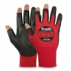 TraffiGlove TG1220 Metric Exposed Fingers Cut Level A Gloves
