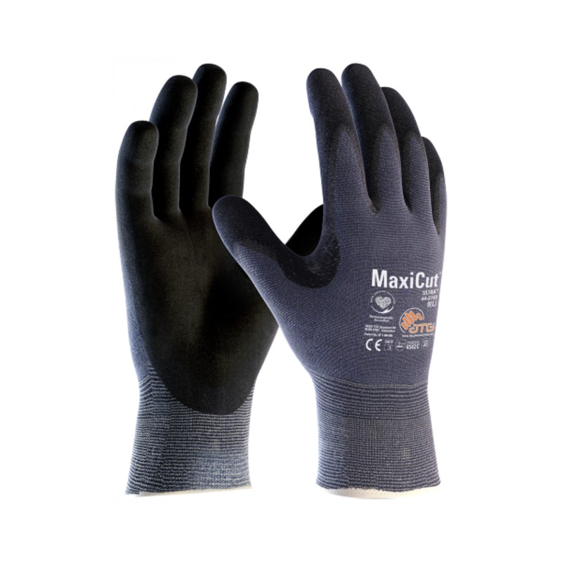 MaxiCut Ultra Level C Palm Coated Grip Gloves 44-3745