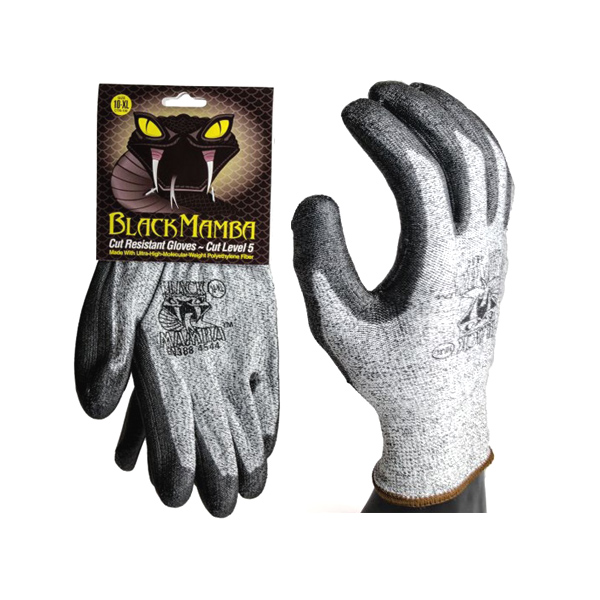 Black Mamba Cut Resistant Gloves PR-CTR