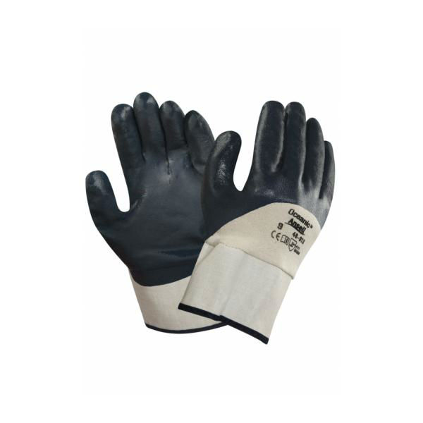 Ansell 48-913 Oceanic Oil-Repellent Handling Gloves