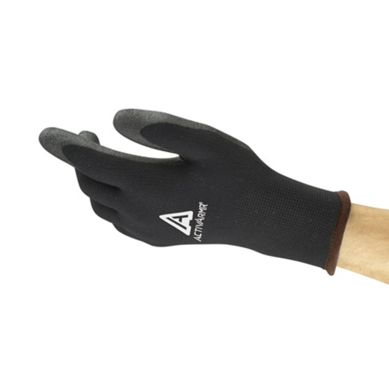 Ansell ActivArmr 97-631 Cold-Resistant PVC Palm Gloves
