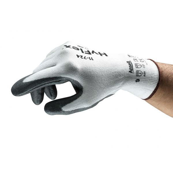 Ansell HyFlex 11-724 Breathable Work Gloves