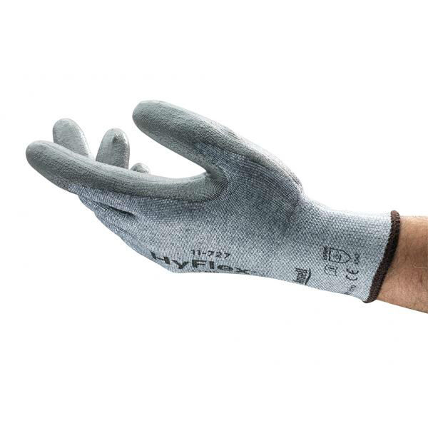 Ansell HyFlex 11-727 Abrasion-Resistant Gloves