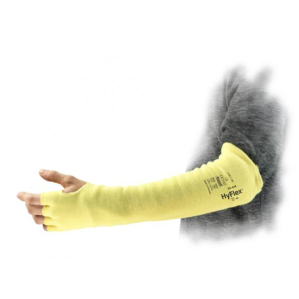 Ansell HyFlex 70-419 45.7cm Cut-Resistant Kevlar Sleeve With Bar Tack