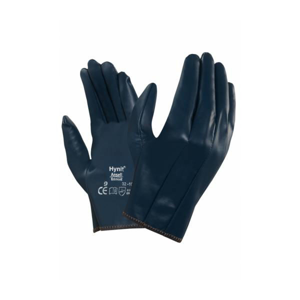 Ansell Hynit 32-105 Slip-On Nitrile Work Gloves
