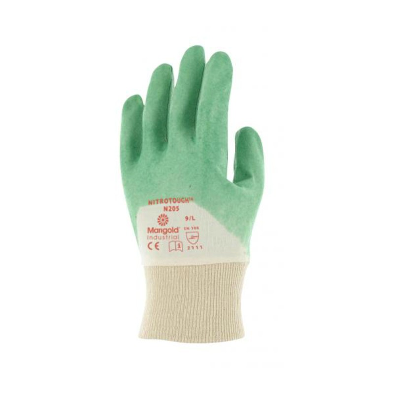 Ansell Marigold Nitrotough N205 Oil Repellent Work Gloves