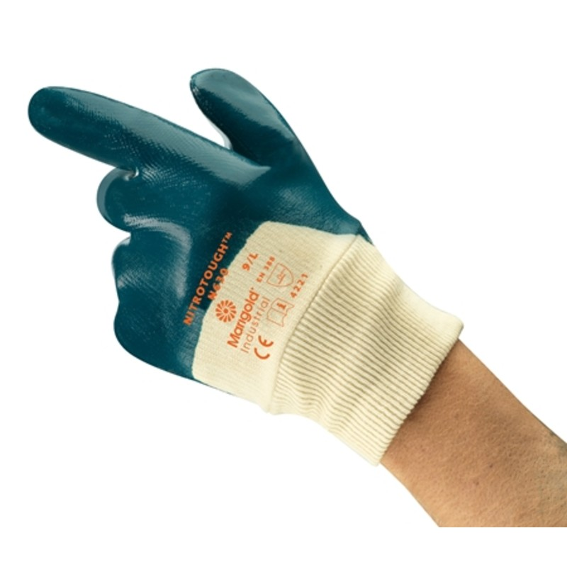 Ansell Marigold Nitrotough N630 Fabrication Gloves