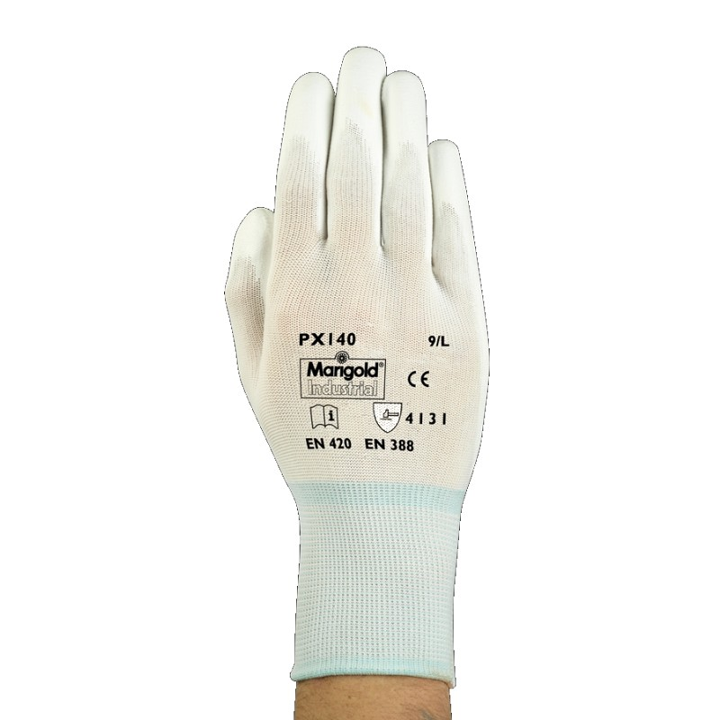 Ansell Marigold PX140 PU Palm Handling Gloves