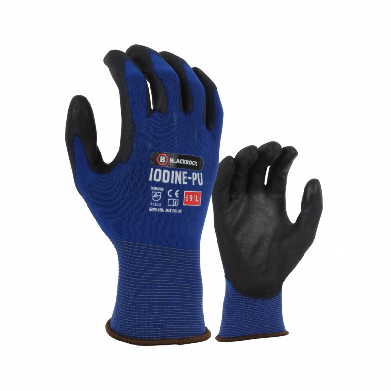 Blackrock BRG301 Iodine Lightweight PU-Coated Grip Gloves