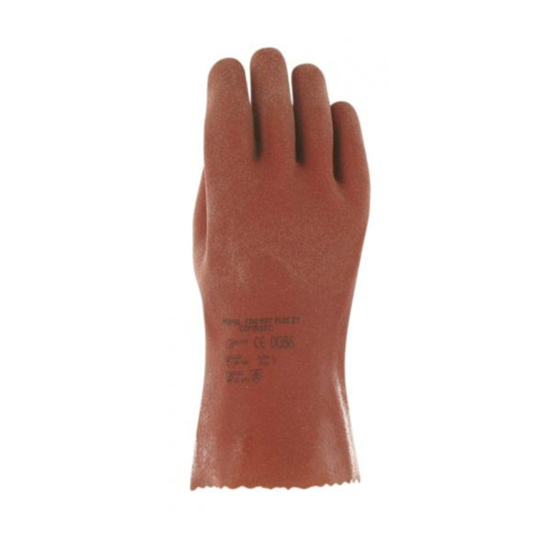 Ansell Comasec Finimat Plus 27 Chemical-Resistant PVC Gloves