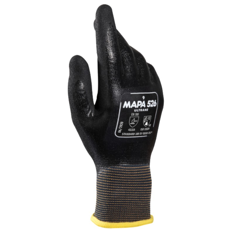 Mapa Ultrane 526 Full Nitrile-Coated Handling Gloves