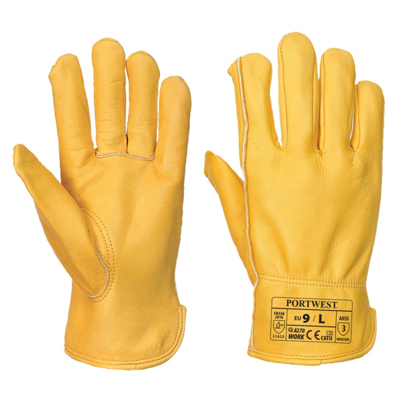Portwest Classic Leather Driving Gloves A270