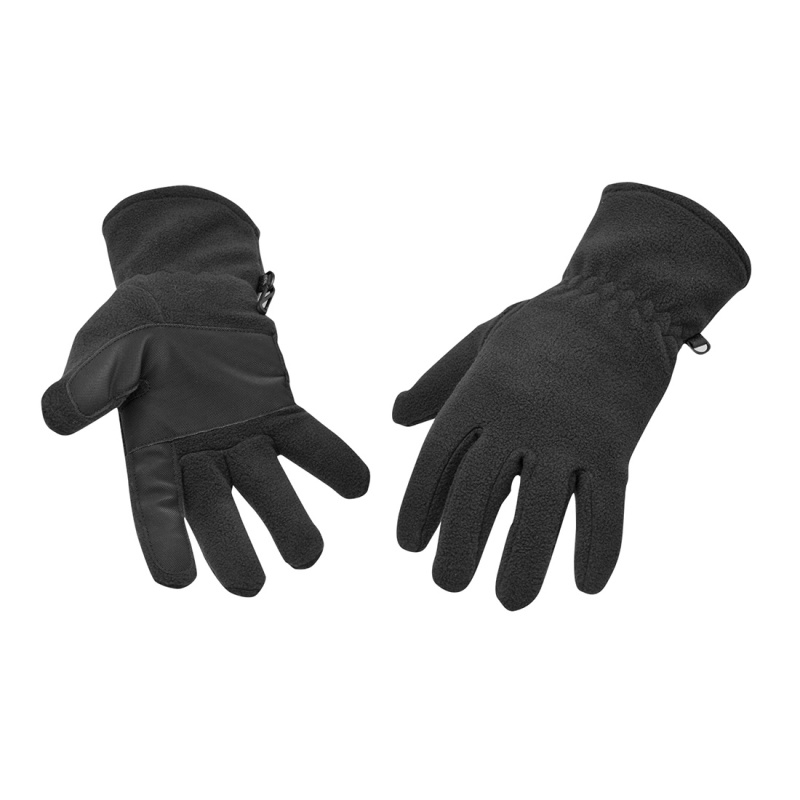 Portwest GL11 Black Fleece Gloves