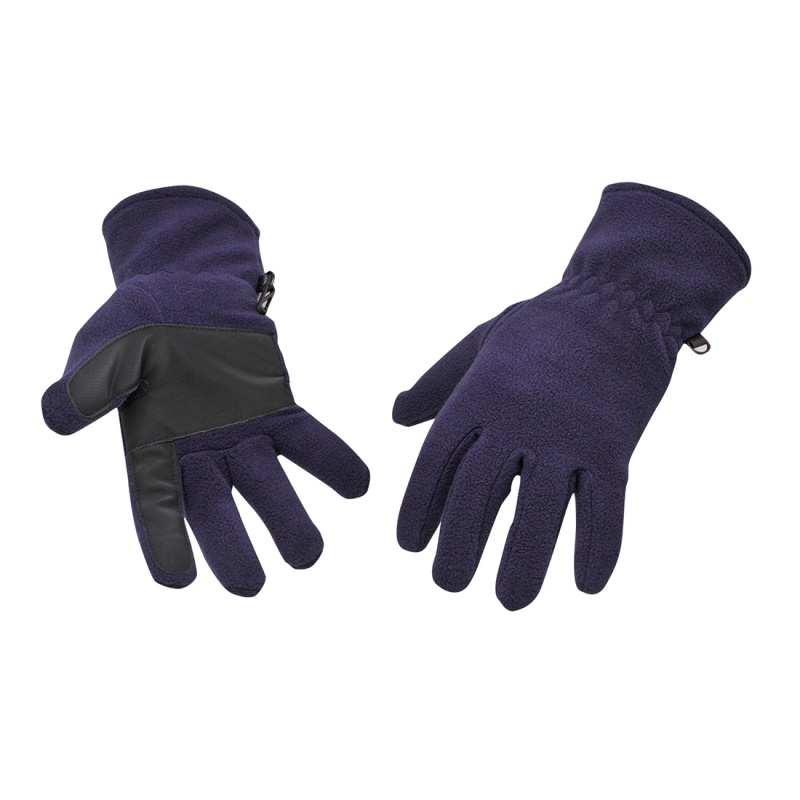 Portwest GL11 Navy Fleece Gloves