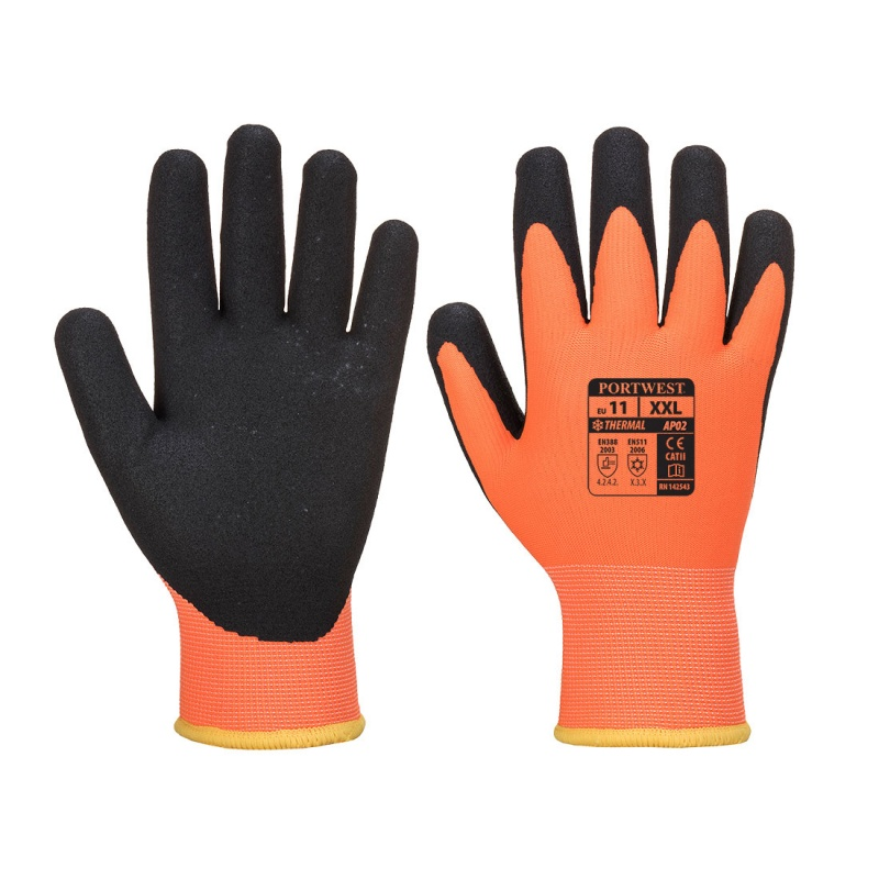 Portwest Nitrile Foam Coated Waterproof Handling Gloves AP30