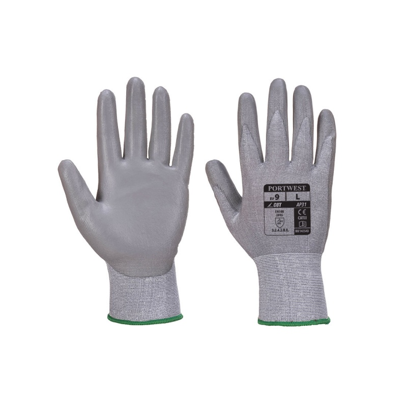 Portwest PU Coated Lightweight Gloves AP31