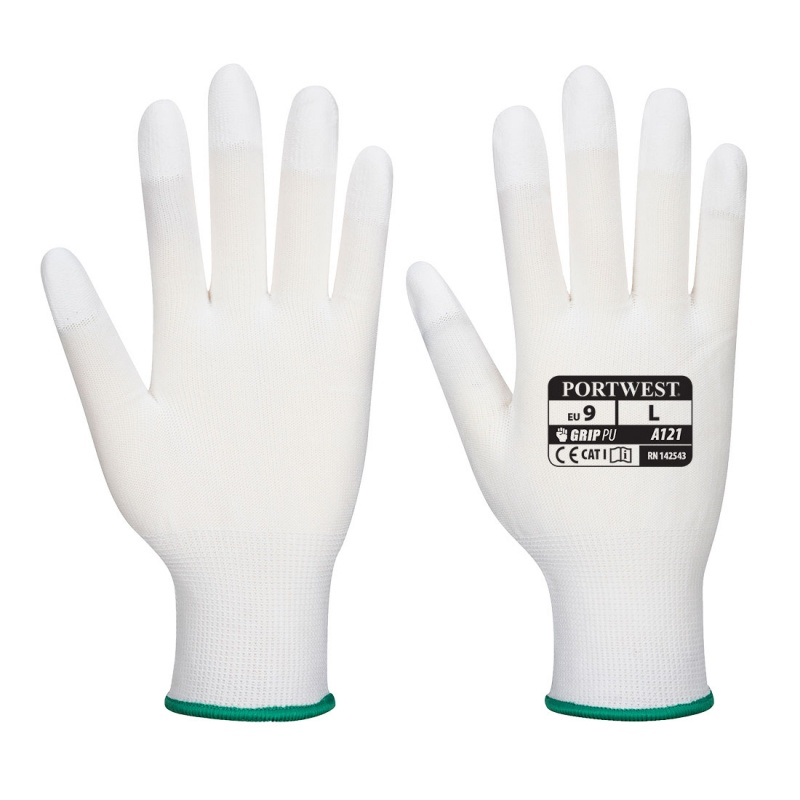 Portwest Precision Handling PU White Gloves A121WH