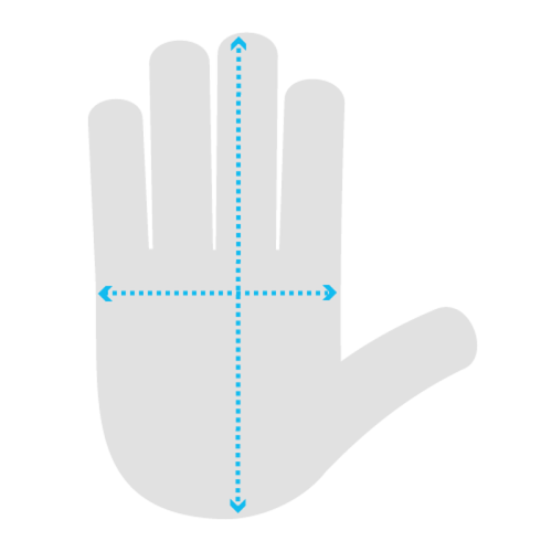 EN 420 Hand Measurement Chart