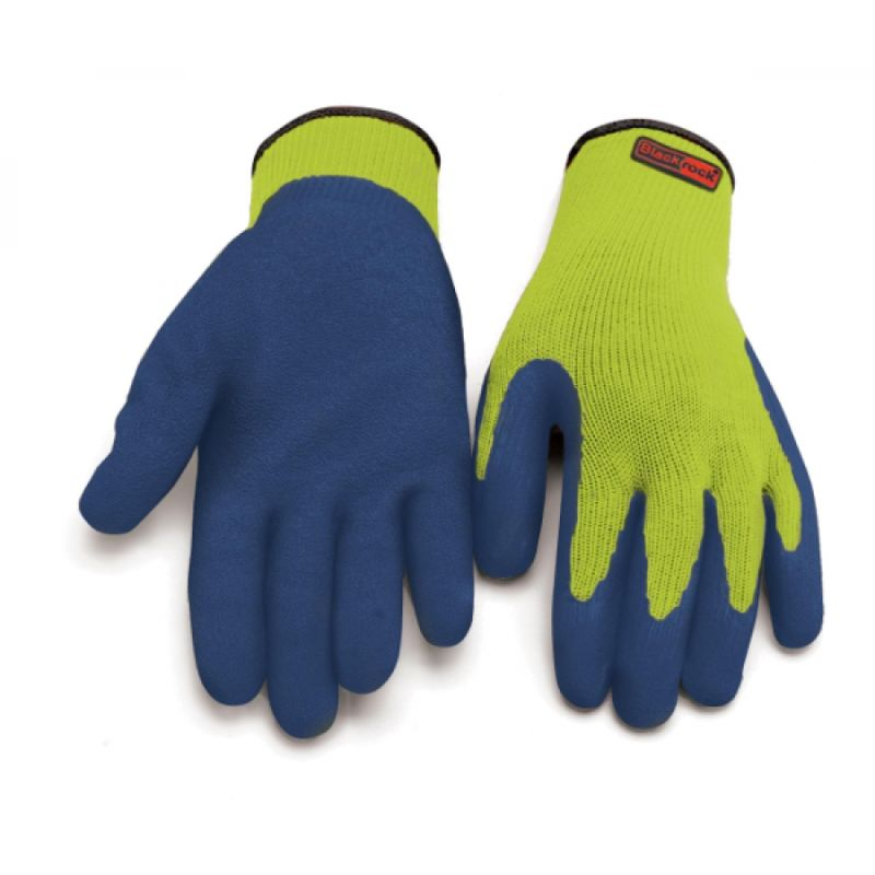Blackrock 84011 Thermal Latex-Coated Grip Gloves