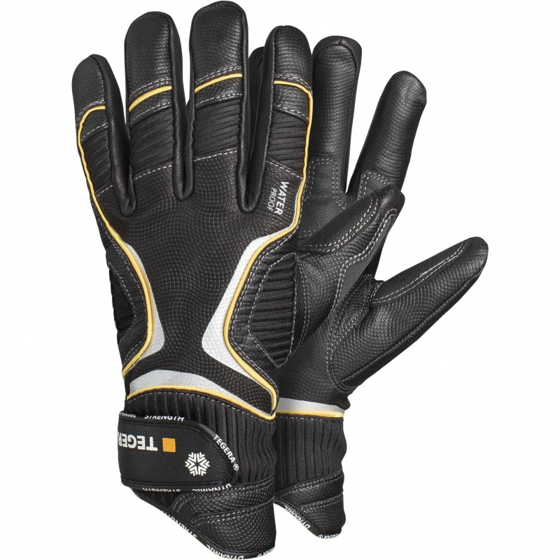 Ejendals Tegera 7797 Waterproof Winter Gloves with Velcro Strap