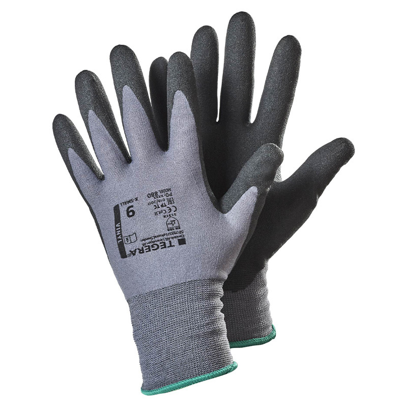 Ejendals Tegera 880 PVC Dipped Nylon Gloves