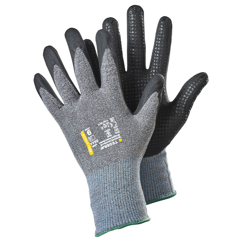 Ejendals Tegera 884a Nitrile-Dipped Precision Gloves