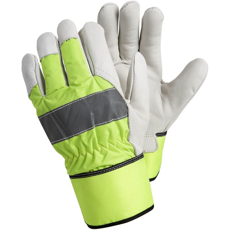 Ejendals Tegera 298 High Visibility Fleece-Lined Gloves