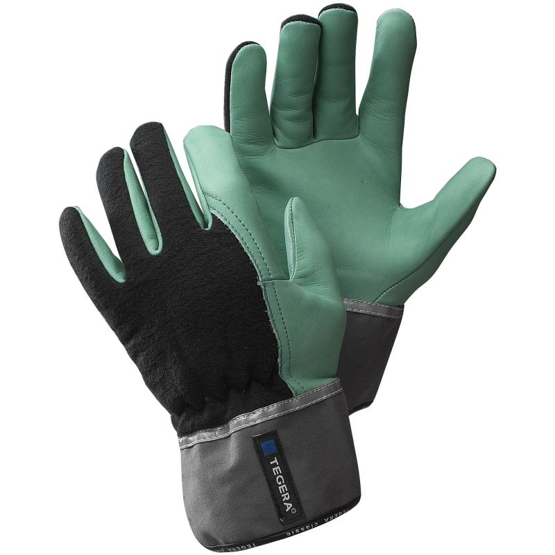 Ejendals Tegera 690 Water Repellent Leather Work Gloves