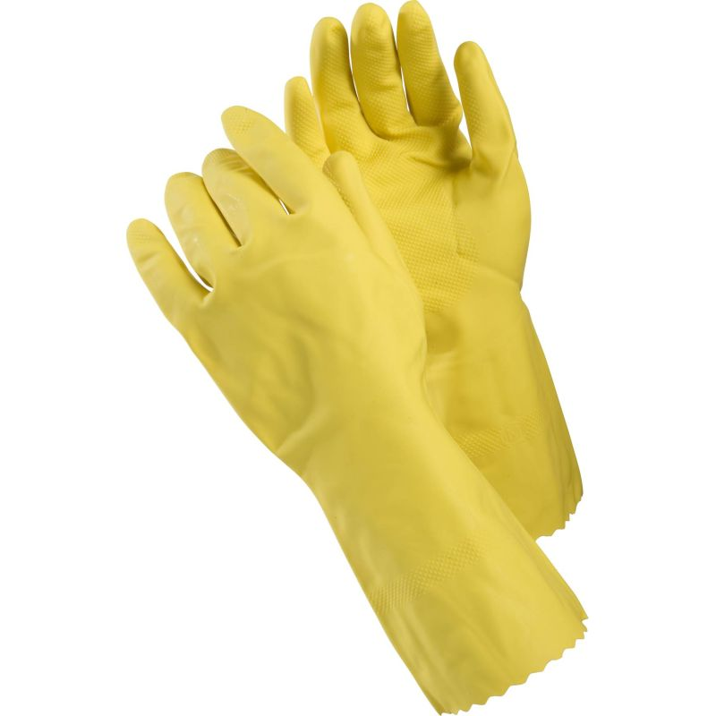 Ejendals Tegera 8145 Yellow Chemical Resistant Latex Gloves