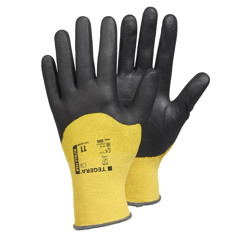 Ejendals Tegera 886 Lycra Nitrile-Coated Gloves
