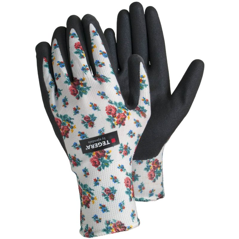 Ejendals Tegera 90065 Ladies Floral Allotment Gloves
