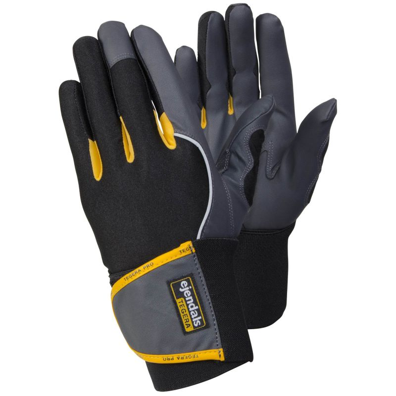 Ejendals Tegera 9195 Nylon Wrist Support Gloves