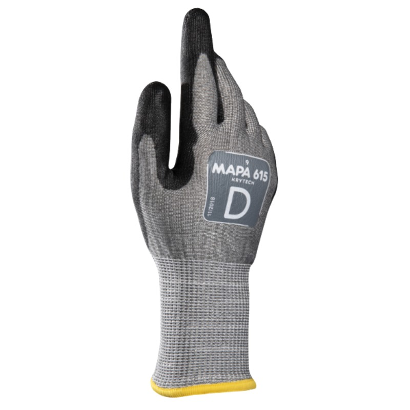 Mapa KryTech 615 PU-Coated Cut-Resistant Touchscreen Gloves