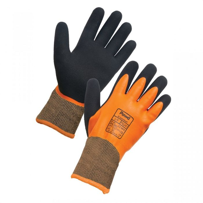 Pawa PG241 Latex-Coated Water-Resistant Thermal Gloves