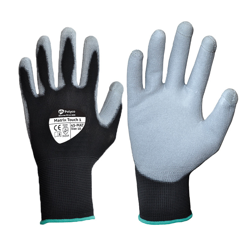Polyco Matrix Touch 1 Touchscreen Gloves