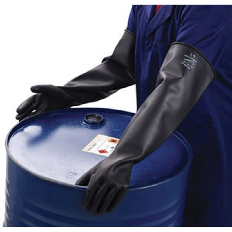 Polyco Mediumweight Chemprotec Chemical Resistant Safety Gloves