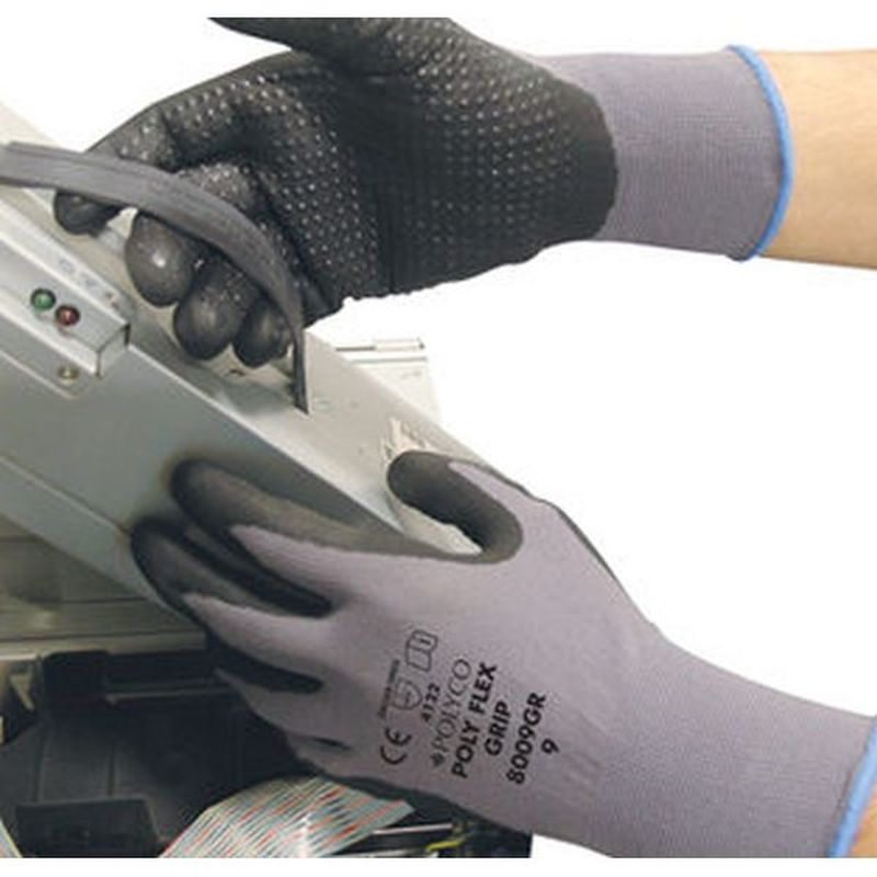 Polyco Polyflex Safety Grip Gloves