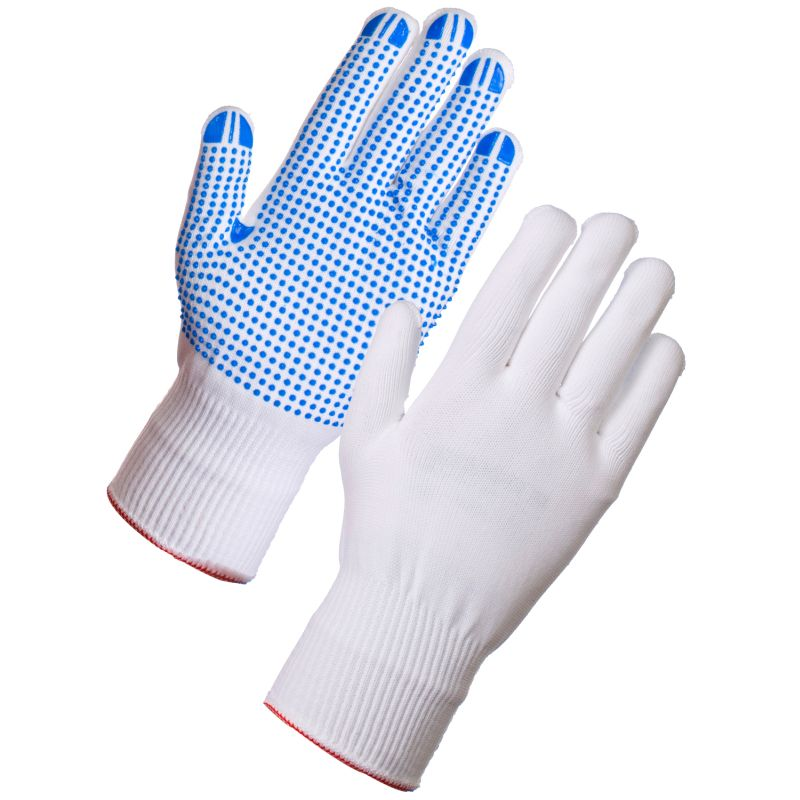 Supertouch 2681 PVC Dot Palm Assembly Gloves