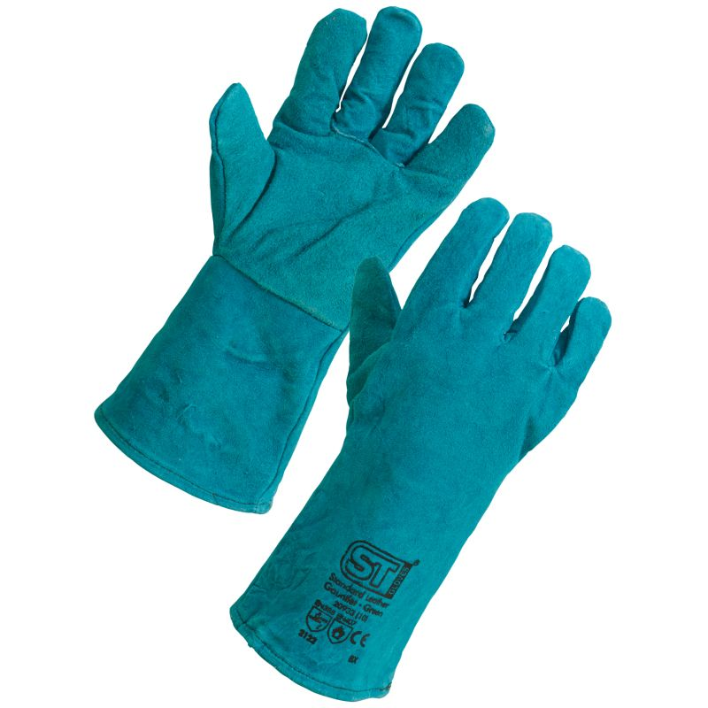 Supertouch 20933/20923 Leather Welding Gauntlet Gloves
