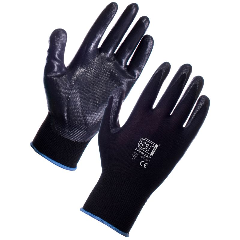Supertouch Nitrotouch Palm Dipped Gloves 2676-78