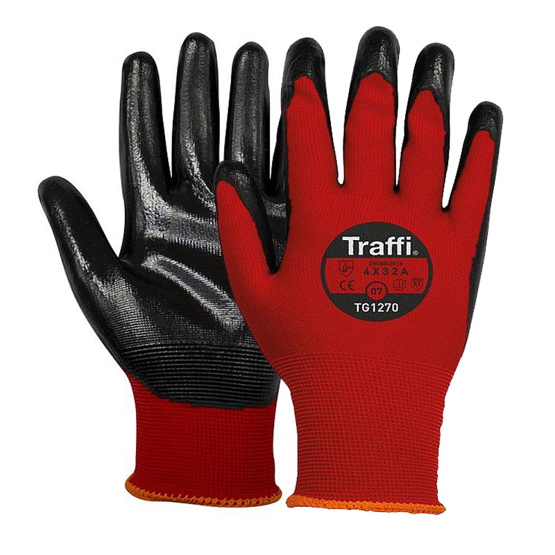 TraffiGlove TG1270 Water and Abrasion Resistant Gloves
