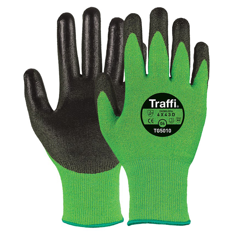 TraffiGlove TG5010 Classic Cut Level D Safety Gloves