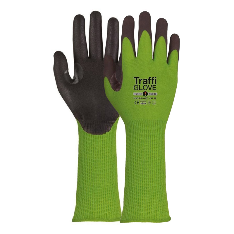 TraffiGlove TG5150 Morphic XP Cut Level C Extra Long Gloves
