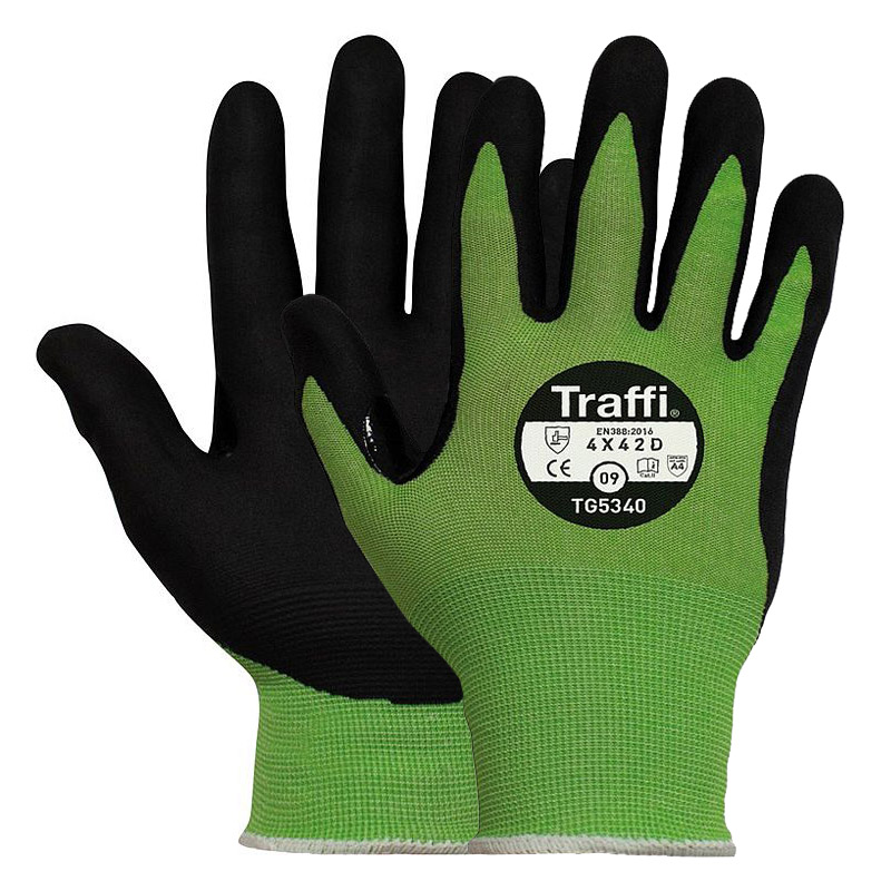 TraffiGlove TG5340 Cut-Resistant Touchscreen Gloves