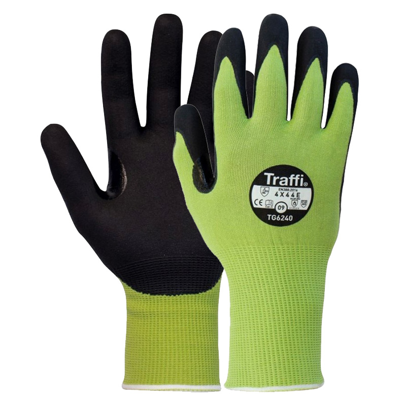 TraffiGlove TG6240 LXT Cut Level E Heat-Resistant Gloves