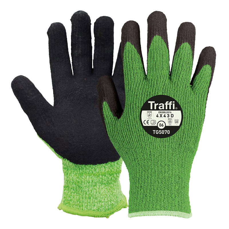 TraffiGlove TG5070 Thermic Cut Level D Safety Gloves